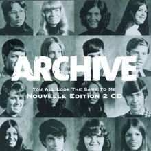 You All Look The Same To Me (Tour Edition / Nouvelle Edition 2 CD)