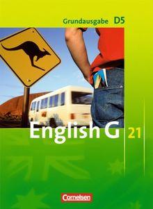 English G 21 - Grundausgabe D: Band 5: 9. Schuljahr - Schülerbuch: Kartoniert