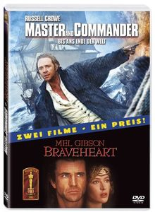 Master and Commander / Braveheart [2 DVDs]