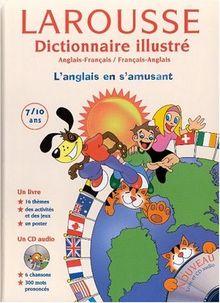 Dictionnaire Illustré : Anglais/français, français/anglais, CE2-CM1-CM2 (CD audio+ poster inclus) (Gamme Enfant)