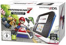 Nintendo 2DS - Konsole (Black) + Mario Kart 7