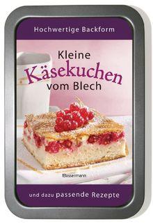 Kleine Käsekuchen vom Blech-Set: Buch und passende Backform