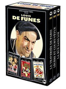 Coffret Louis de Funes 3 DVD : Rue sans loi / Légère et court vêtue / La traversée de Paris [FR Import]