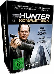 Hunter: Gnadenlose Jagd - Staffel 1-7 - Komplettbox [42 DVDs]