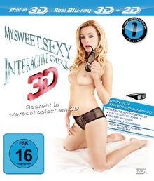 My Sweet Sexy Interactive Girl 3D Edition 1 [Blu-ray]