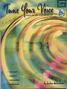 Tune Your Voice: Low Voice, Book & 7 CDs