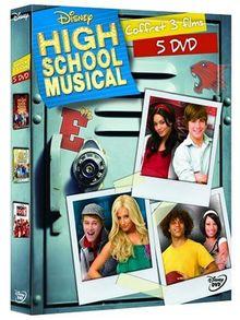 Trilogie High School Musical : vol. 1 a 3 - Coffret 5 DVD