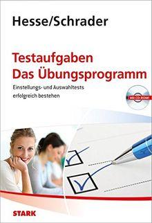 Hesse/Schrader: Testaufgaben - Das Übungsprogramm