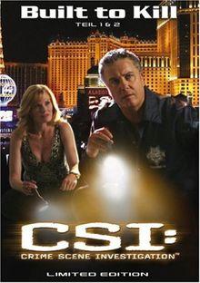 CSI: Crime Scene Investigation - Built to Kill - Steelbox [Limited Edition]