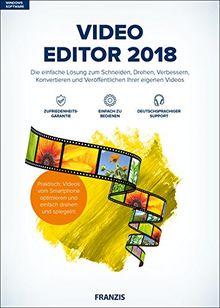 FRANZIS Video Editor (2018) Software