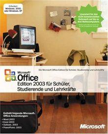 Microsoft Office 2003 SSL - Schüler, Studenten und Lehrer