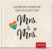 Die besten Wünsche zur Hochzeit für Mrs & Mrs: Für gleichgeschlechtliche Ehepaare