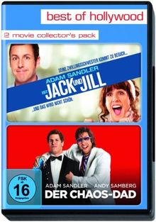 Best of Hollywood - 2 Movie Collector's Pack: Jack and Jill / Der Chaos-Dad [2 DVDs]