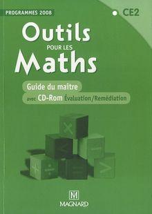 Outils pour les Maths - CE2 : Guide du maître - Programmes 2008 (1Cédérom)