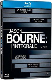 Jason Bourne - L'Intégrale - [Edition Limitée - Boitier Métal] - Intégrale Blu-Ray 1 à 4