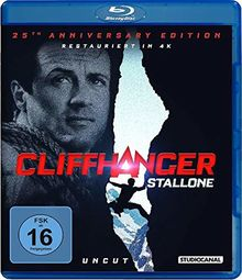 Cliffhanger / Uncut / 25th Anniversary Edition [Blu-ray]