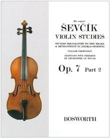 Sevcik Violin Sudies. Op. 7 Part 2. Triller-Vorstudien