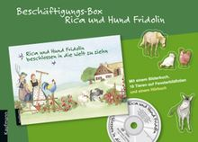Beschäftigungs-Box, Rica und Hund Fridolin, m. Audio-CD