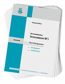 Schuldrecht BT I (Karteikarten - Zivilrecht)