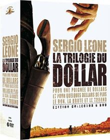 Coffret sergio leone, la trilogie du dollar
