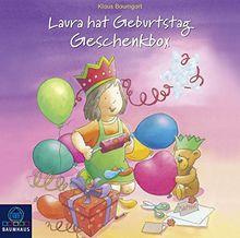 Laura hat Geburtstag - Geschenkbox: Mit Buch, Hörbuch und Spiel (Lauras Stern - Erstleser)
