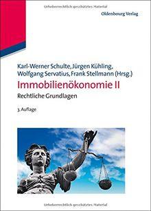 Immobilienökonomie II: Rechtliche Grundlagen