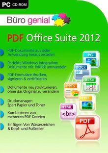 Büro genial PDF Office Suite 2012