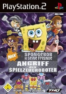 SpongeBob & Freunde - Angriff der Spielzeugroboter