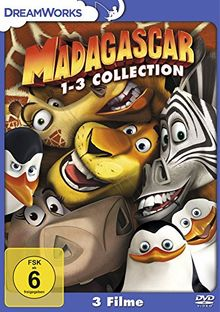 Madagascar / Madagascar 2 / Madagascar 3: Flucht durch Europa [3 DVDs]