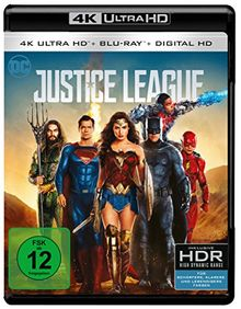 Justice League (4K Ultra HD + 2D Blu-ray) [Blu-ray]