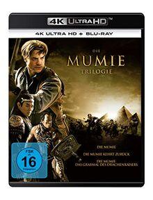 Die Mumie Trilogie - Die Mumie / Die Mumie kehrt zurück / Die Mumie: Das Grabmal des Drachenkaisers (3 4K Ultra HD) (+ 3 Blu-rays)
