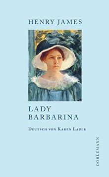 Lady Barbarina: Erzählung