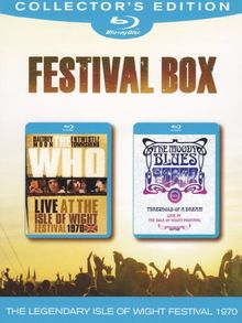 Festival Box: The Who/The Moody Blues [Blu-ray] [Collector's Edition]