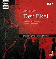 Der Ekel: Ungekürzte Lesung mit Dietmar Schönherr (1 mp3-CD)