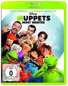 Muppets Most Wanted [Blu-ray]