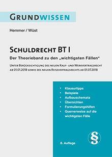 Grundwissen - Schuldrecht BT I (Skripten - Öffentliches Recht)