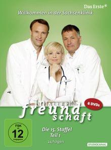 In aller Freundschaft - Die 15. Staffel, Teil 1, 24 Folgen [6 DVDs]