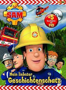 Feuerwehrmann Sam (Buch mit DVD): Mein liebster Geschichtenschatz