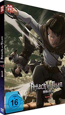 Attack on Titan - Staffel 3 - Vol.1 - [DVD]