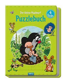 """Puzzlebuch """"Der kleine Maulwurf"""": 4 Puzzles"""