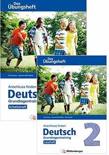 Anschluss finden / Deutsch 2 – Das Übungsheft – Grundlagentraining: Leseheft und Arbeitsheft: Grundlagentraining Klasse 2