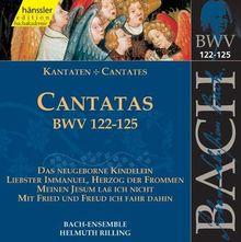 Edition Bachakademie Vol. 39 (Geistliche Kantaten BWV 122-125)