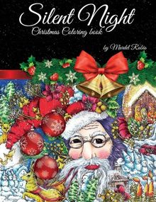 Silent Night: Adult Coloring Book