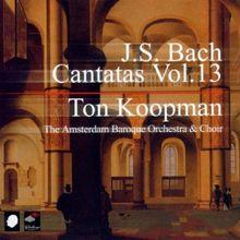 Bach - Kantaten Vol.13 / Ton Koopman [BOX SET]