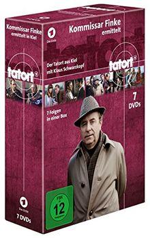Tatort - Kommissar Finke ermittelt in Kiel [7 DVDs]