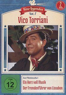 Vico Torriani - Ein Herz voll Musik/Der Fremdenführer von Lissabon - Kino-Legenden Vol. 7 [2 DVDs]