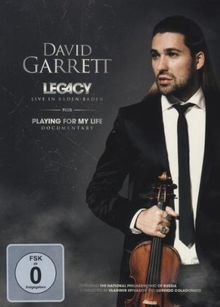 David Garrett - Legacy: Live In Baden Baden [Limited Digipack Edition]