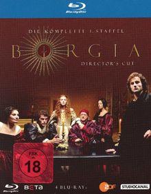 Borgia - Die komplette 1. Staffel (Director's Cut) [4 Blu-rays]