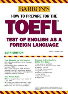 How to Prepare for the TOEFL. Test of English as a Foreign Language. (Lernmaterialien) (Barron's TOEFL IBT)