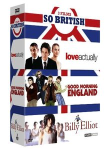 Coffret so british : good morning england ; love actually ; billy elliot